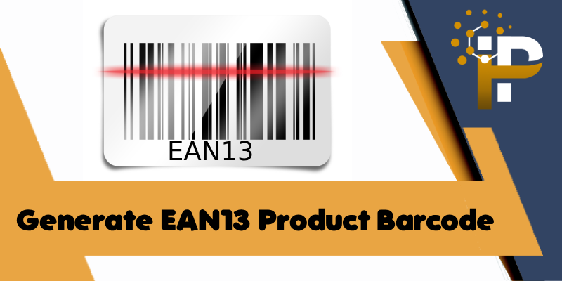 Generate EAN13 Product Barcode