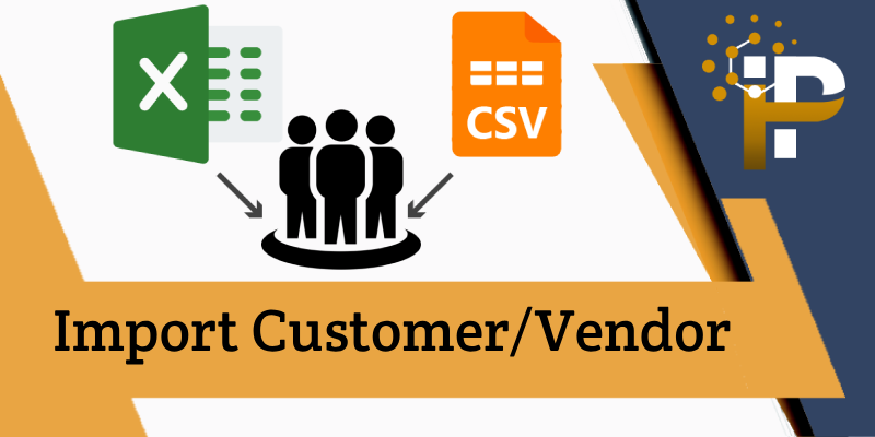 Import Customer/Vendor