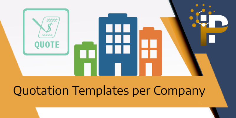 Quotation Template per Company