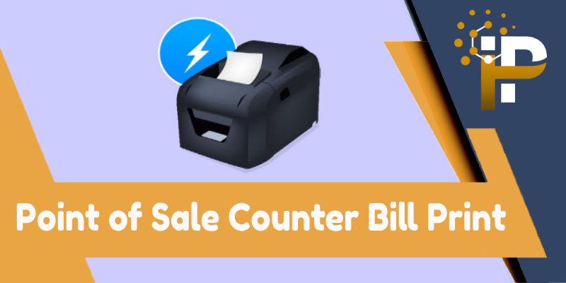 POS Counter Bill
