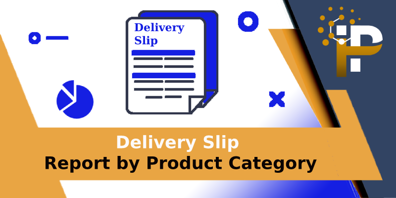 Delivery Slip Report By Product Category