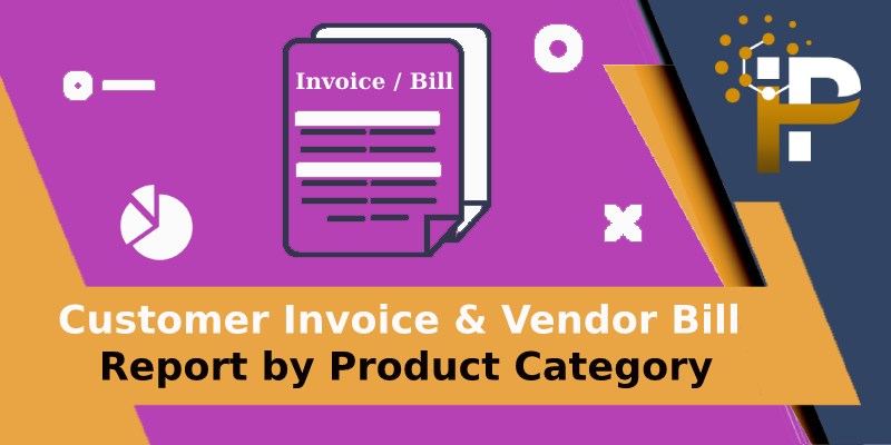 Invoice, Bill, Credit Note and Refund Report By Product Category