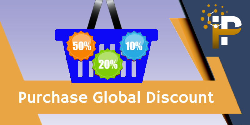 Global Discount on Purchase & Invoice