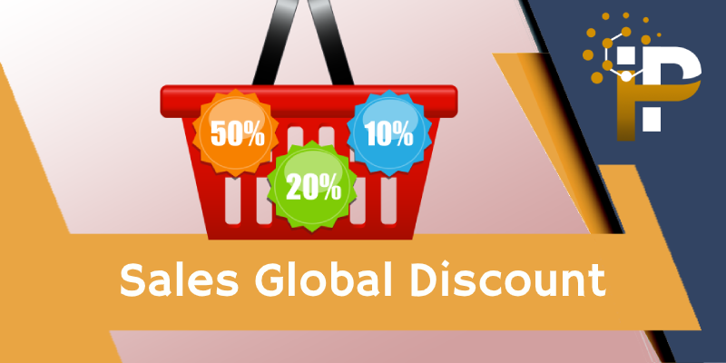 Global Discount on Sale Order & Invoice