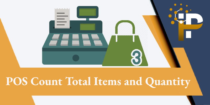 POS Count Total Items and Quantity