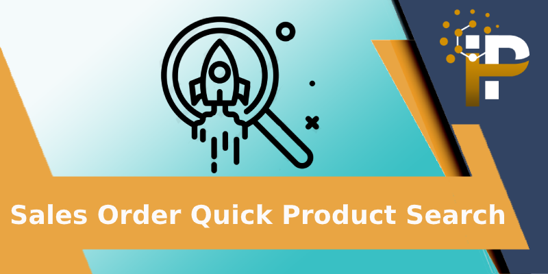 Sales Order Quick Product Search