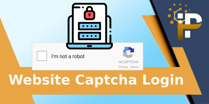 Website Login reCAPTCHA